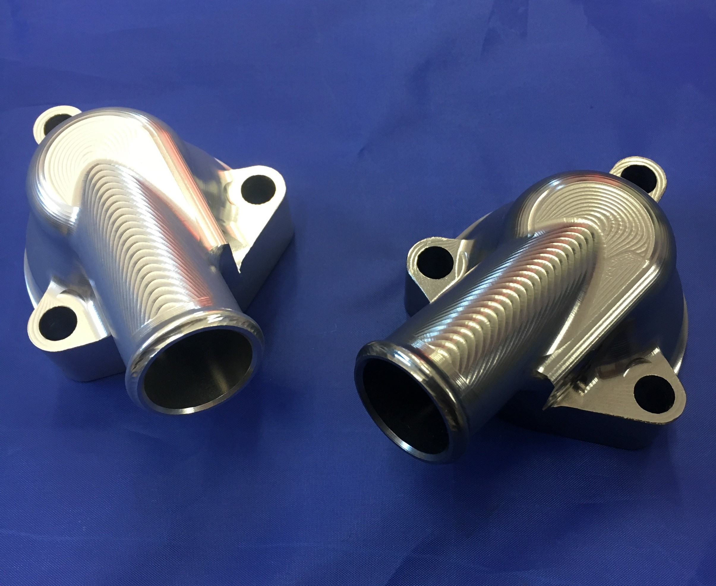A-Series Billet Thermostat Housing