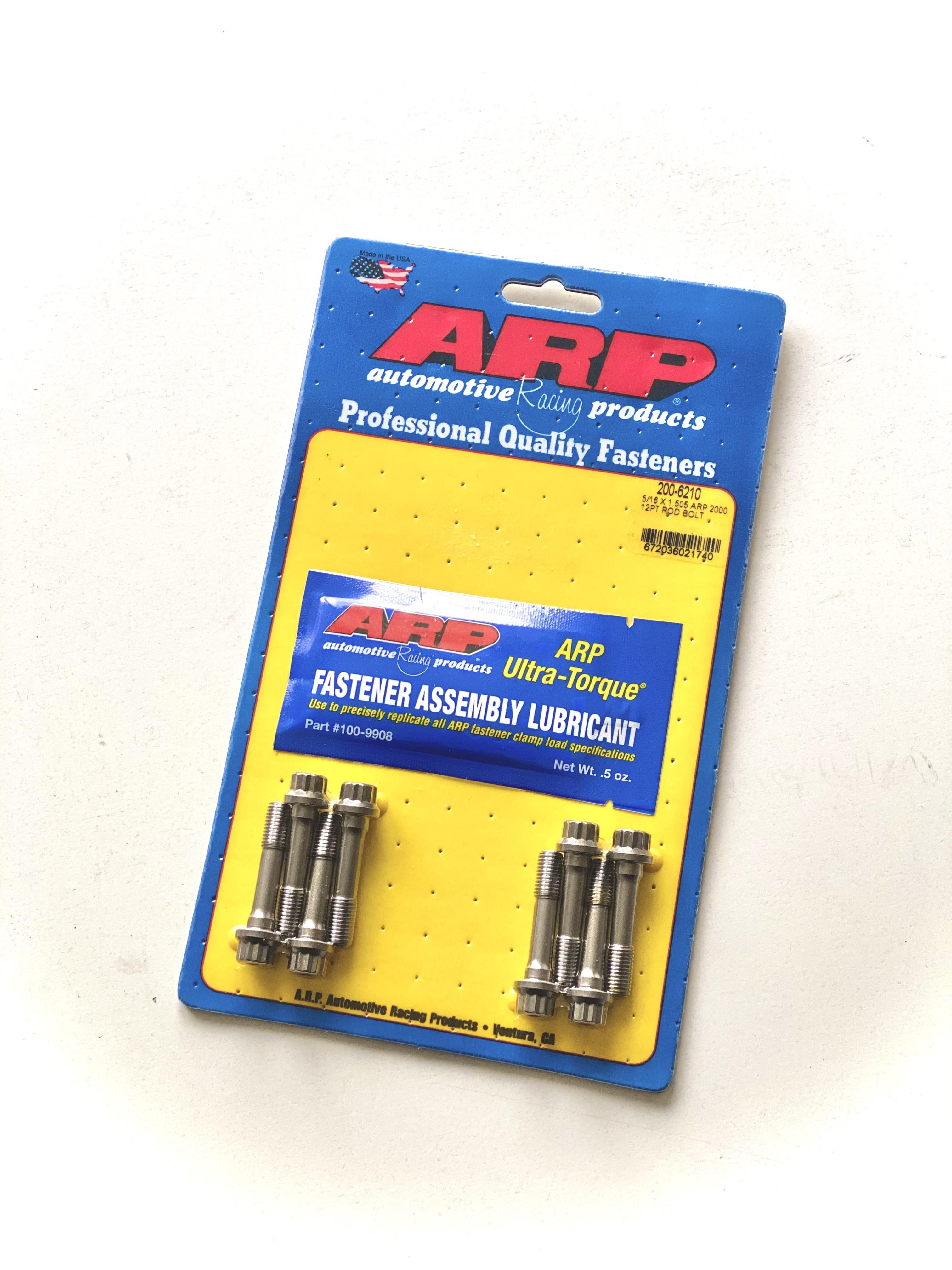 ARP Rod Bolt Set - Steel Rods