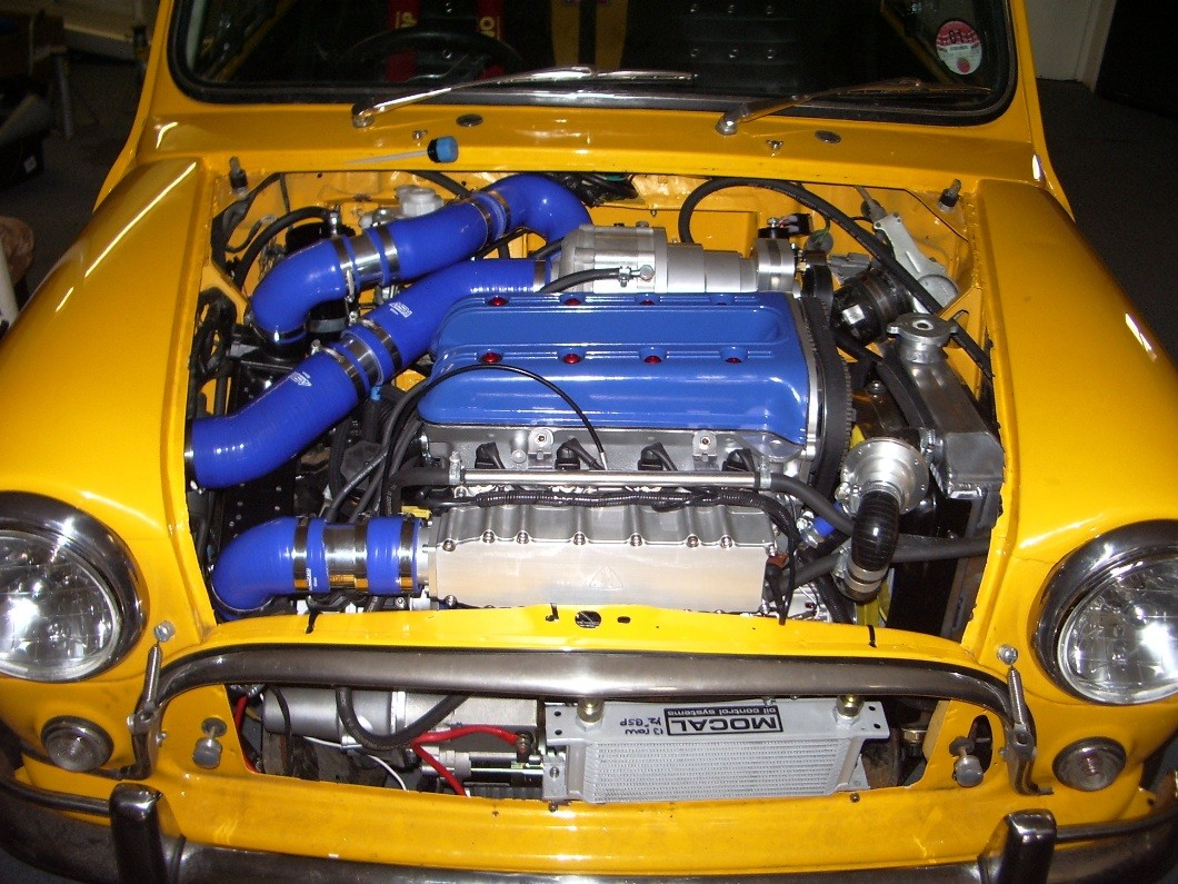 SC Twinkam Rotrex Supercharged Engine