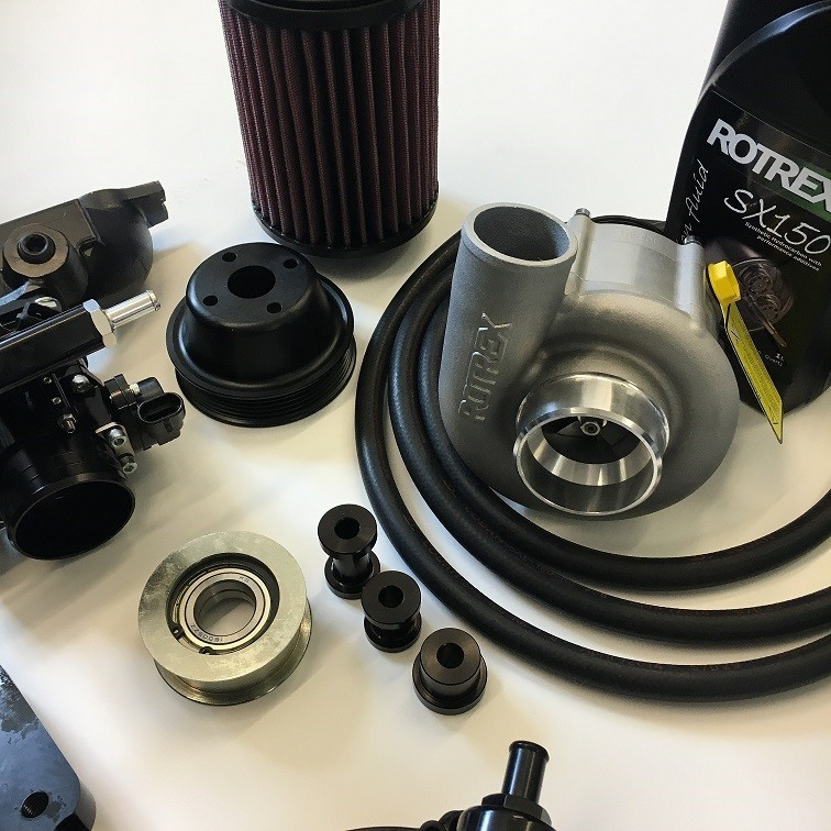 S-Pack Rotrex Supercharged 5 Port Kit